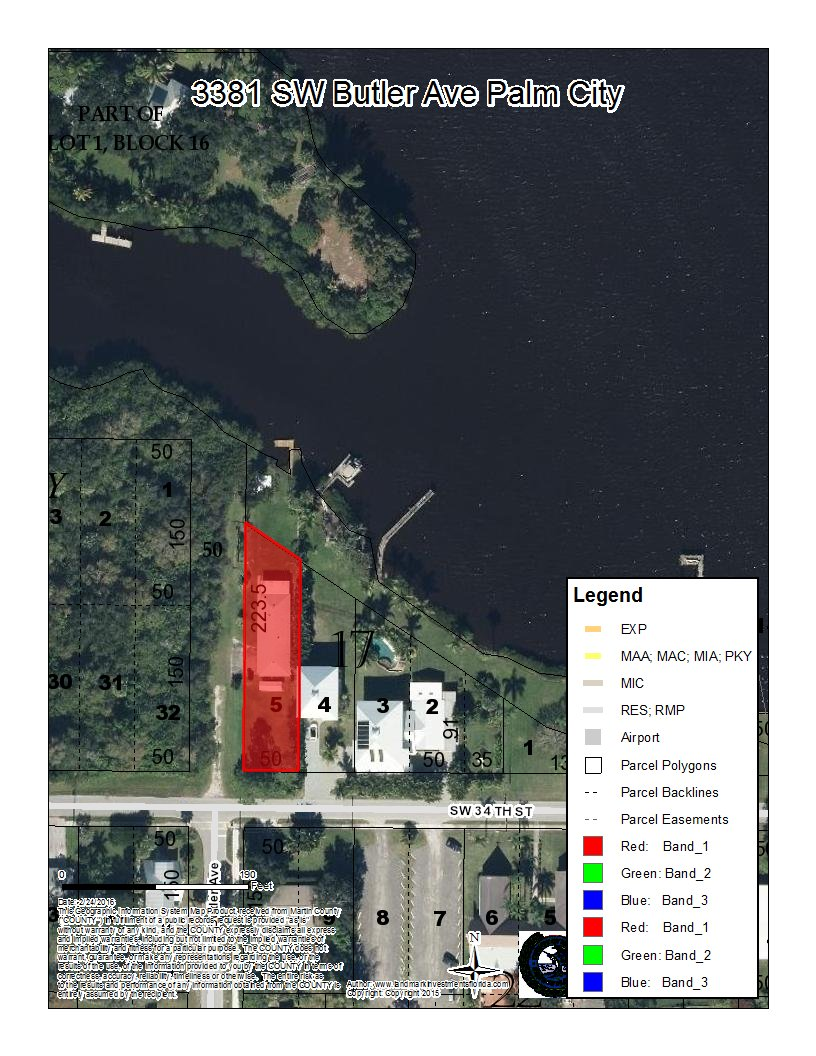 Water Front Homes For Sale In Palm City Fl Landmark
